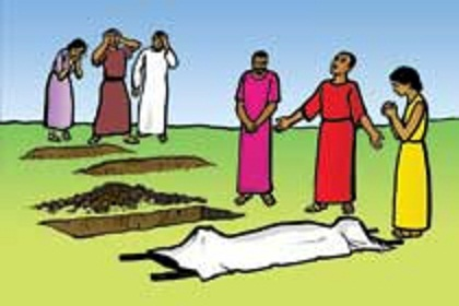 Dying clipart burial God's beeld Nieuws this But