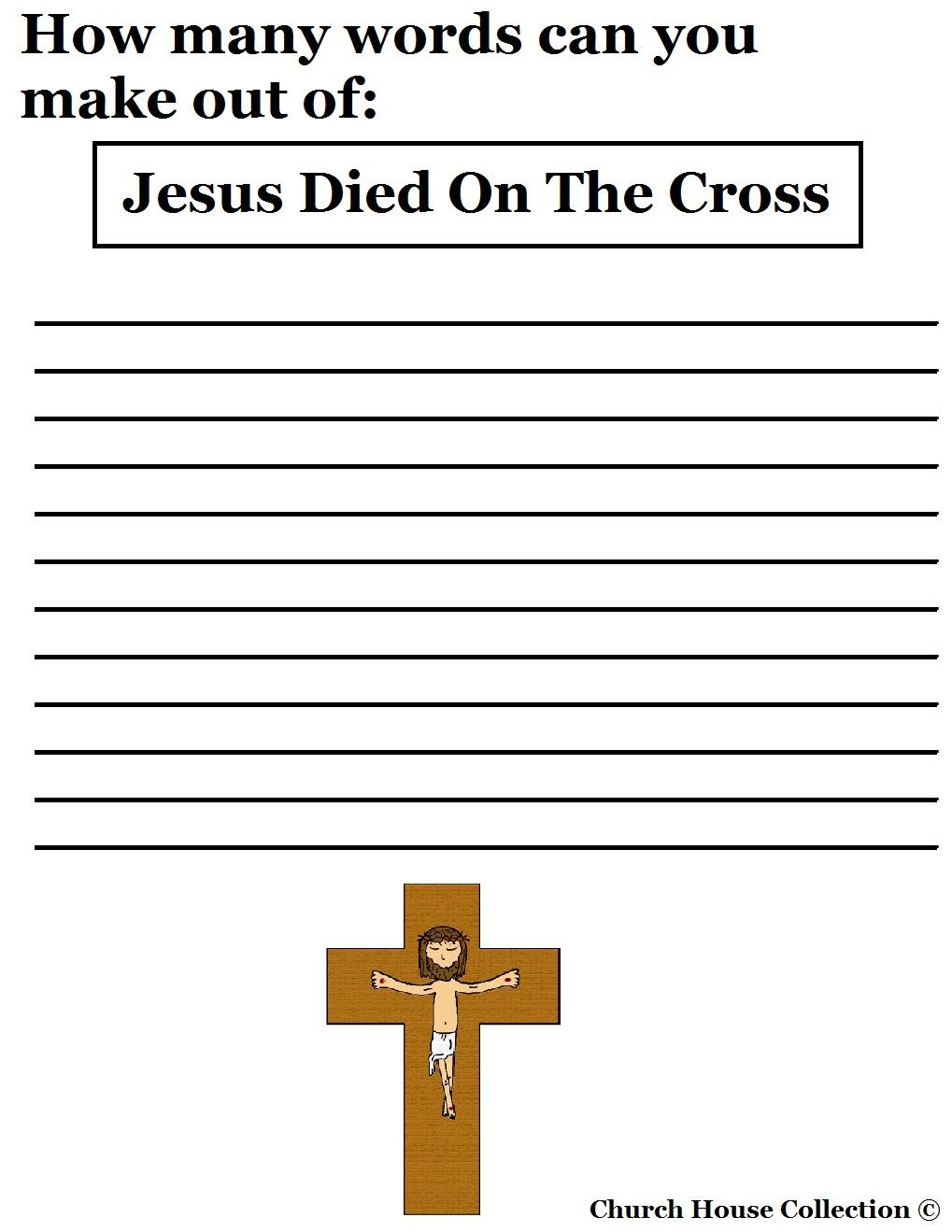 Dying clipart cross Jesus On Died Cross Died