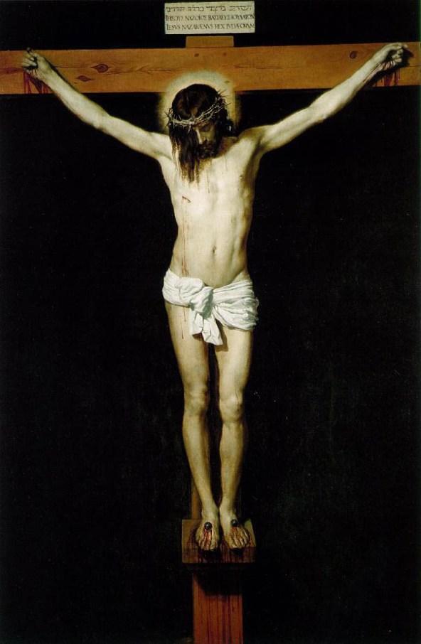 Dying clipart cross Crucifixion paintings JESUS: Velazquez CRUCIFIXION