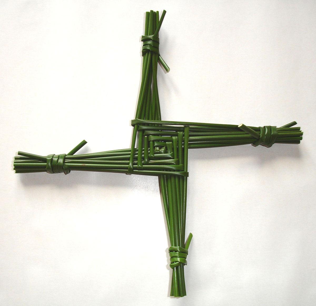 Dying clipart death symbol Cross Wikipedia Brigid's