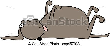 Dying clipart dog Dog Dead royalty dead Photo