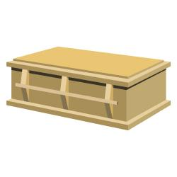 Coffin clipart casket Art Casket Open Clip casket