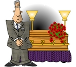 Dying clipart funeral director The Arian American Catholic –