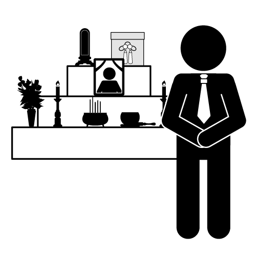 Dying clipart funeral director About industry on up sums