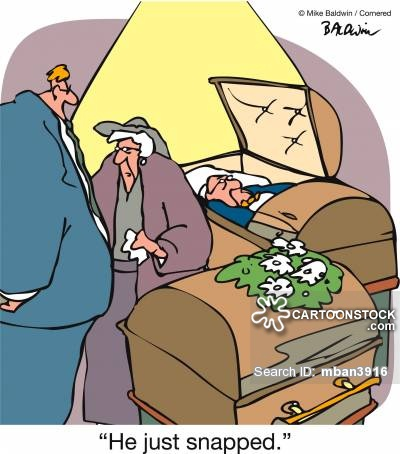Dying clipart funeral home Funeral from cartoon and Comics