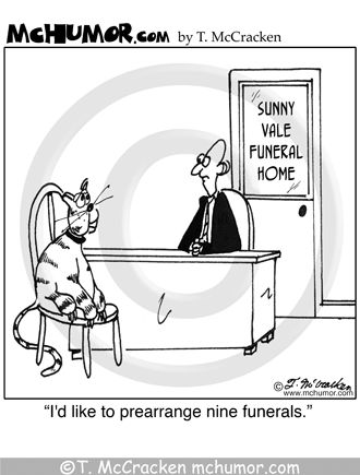 Dying clipart funeral home Home Death cat 27 Humor