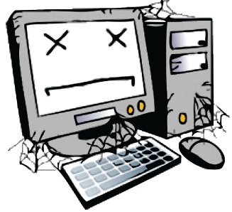 Dying clipart funny computer Died! Myriad My Musings died!