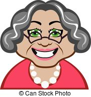 Dying clipart grandmother Search  Vector Grandma walking
