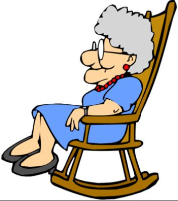 Cottage clipart thing Rocker dublinhousewife granny Granny clipart