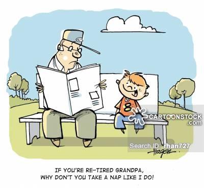 Dying clipart grandpa Grandson Grandson pictures CartoonStock 7