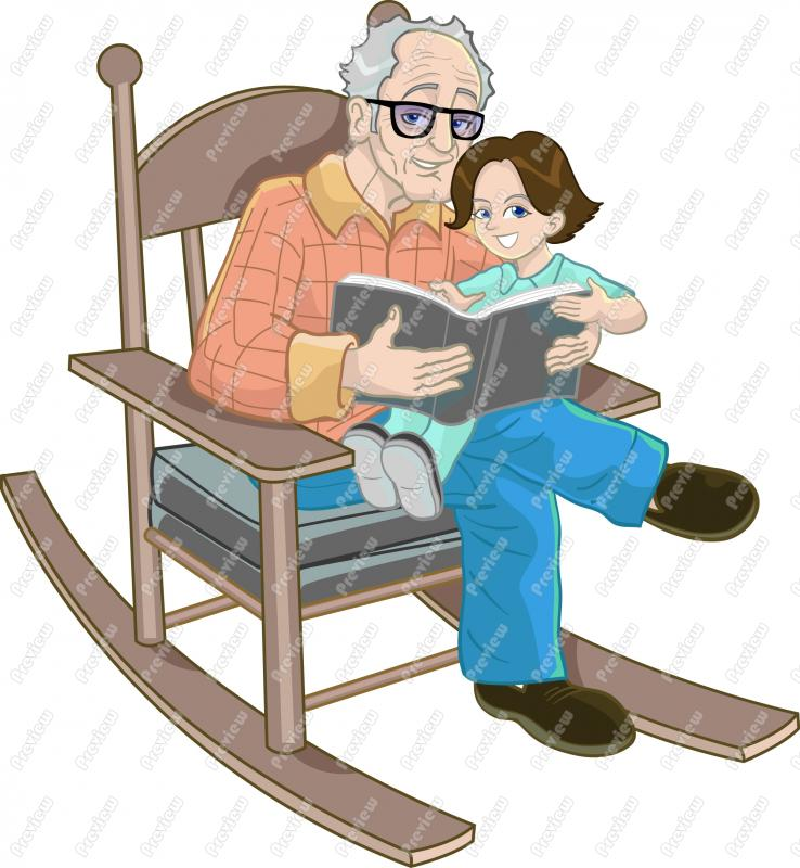 Dying clipart grandpa Years house is Mona of