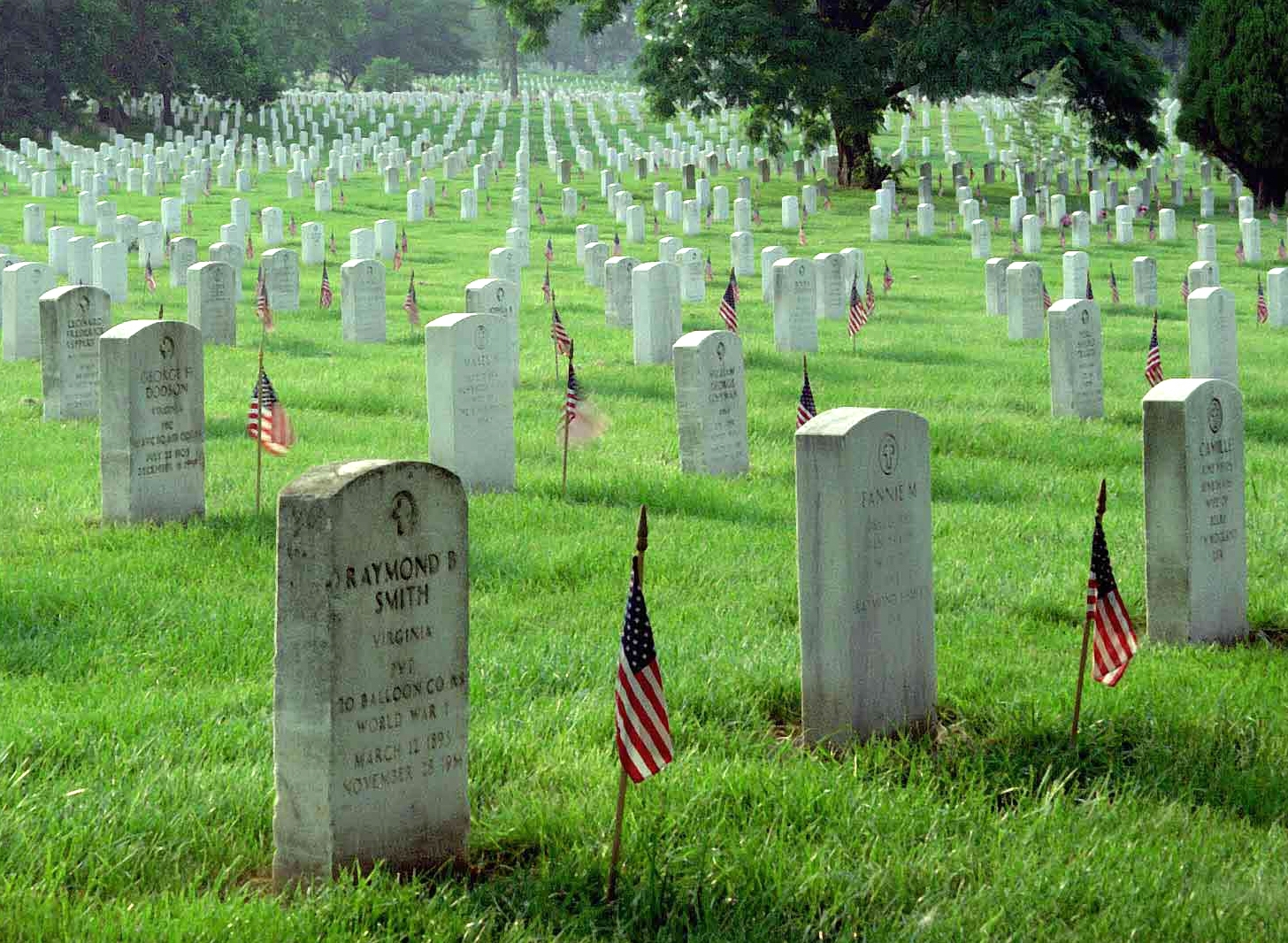 Cemetery clipart died Patriotic and Free Page Backgrounds