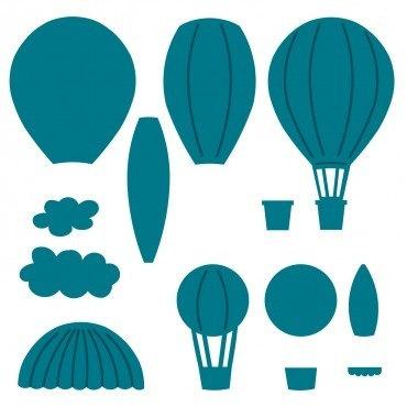 Dying clipart hot summer Baloon Pinterest balloon cut die