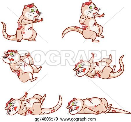 Dying clipart pet Gg74806579 Clipart dying rat sprite