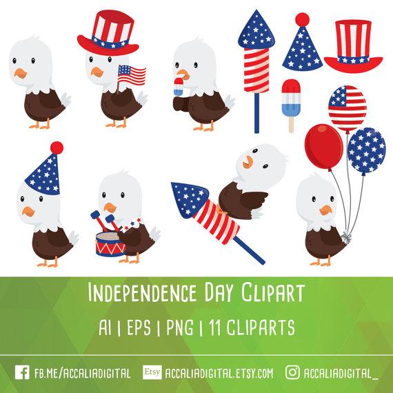 Bald Eagle clipart patriotic OFF eagle Fourth Eagle July