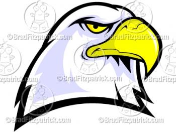 Bald Eagle clipart cartoon Mascot Eagle Cartoon Eagle Bald