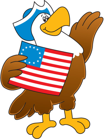 Bald Eagle clipart patriotic Clipart Clip Eagle Patriot Download