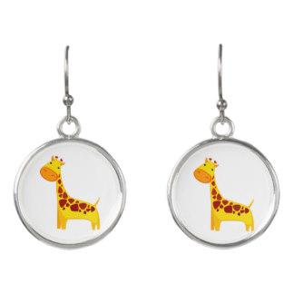 Earrings clipart cartoon Giraffe cartoon Earrings Clipart Zazzle