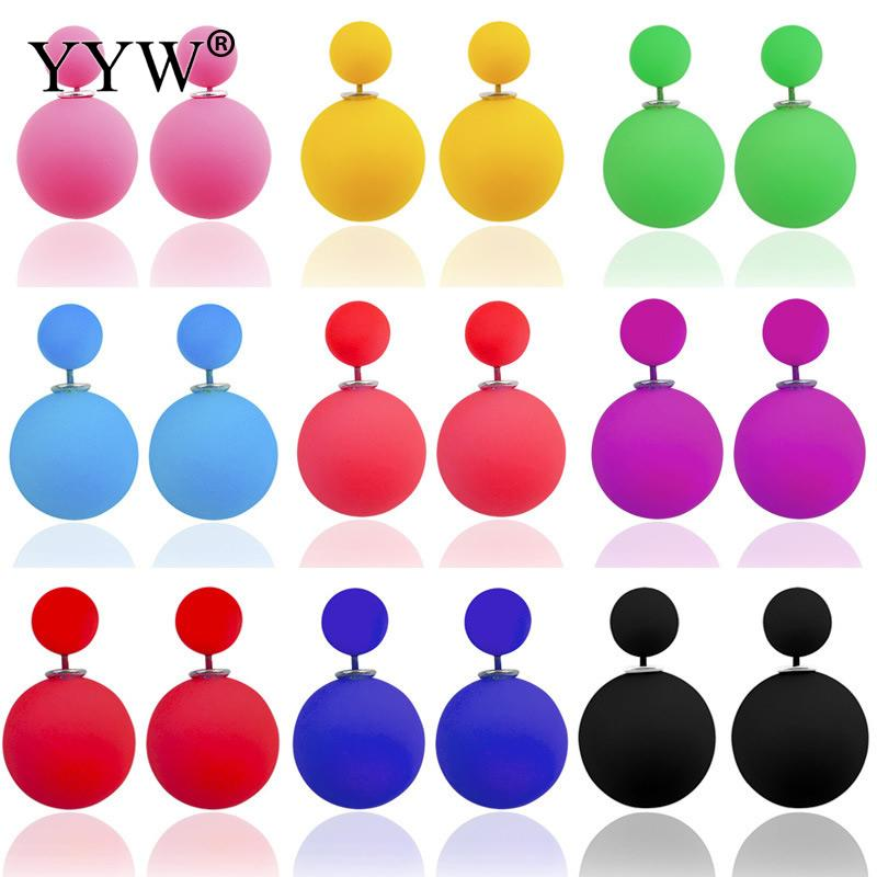 Earrings clipart circle Earrings Big Colorful Sided Luxury