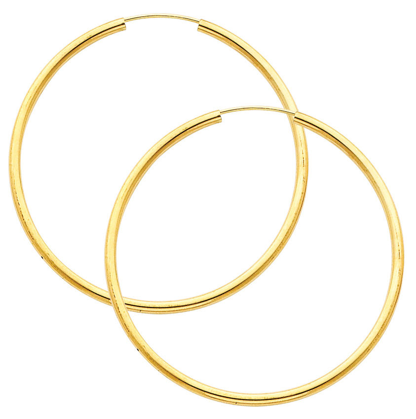 Earrings clipart circle Gold Image Large Extra