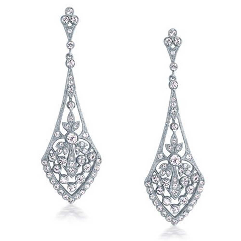 Earrings clipart diamond earring 15418077 Free Image Vector Earrings
