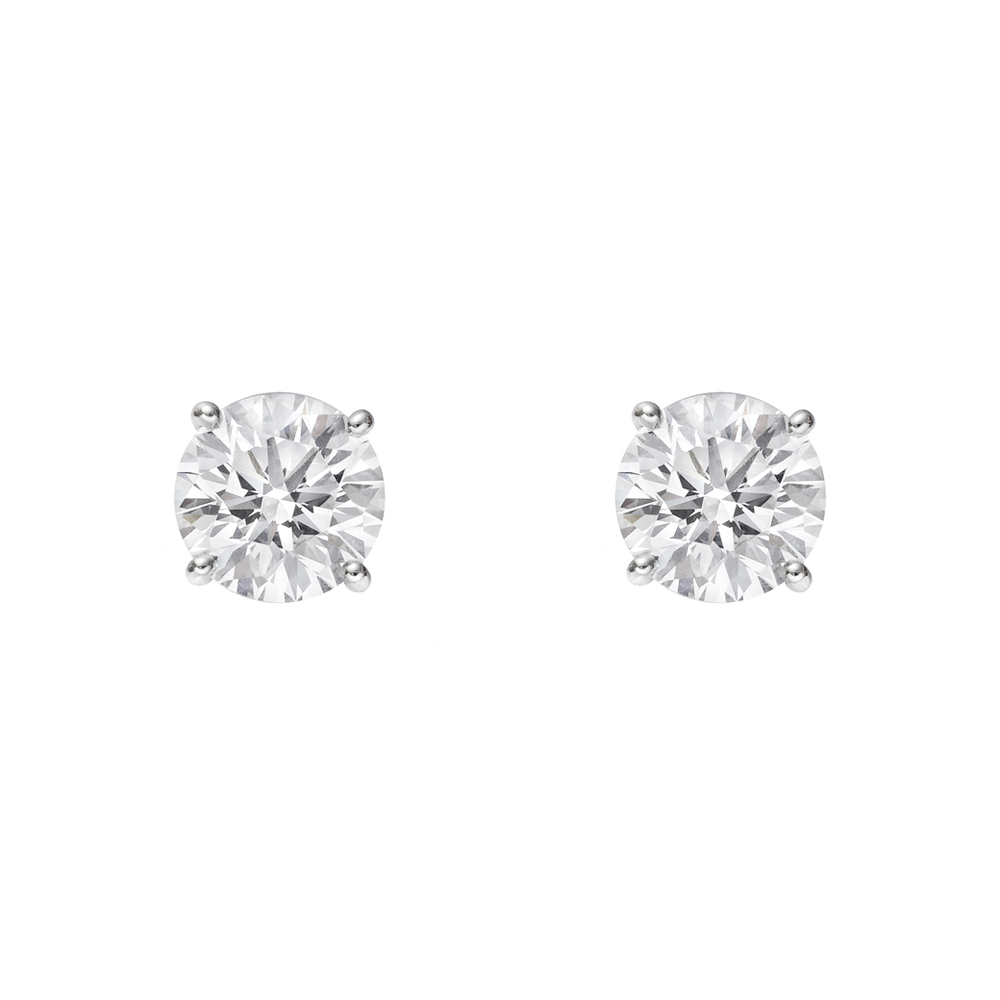 Earrings clipart diamond earring 5 ct Estate 5 Brilliant