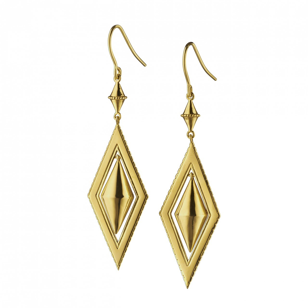 Earrings clipart diamond earring & Diamond in Gold Sterling
