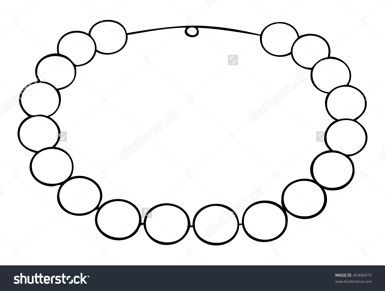 Necklace clipart outline Clipart Necklace Clipart  Wallpaper