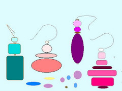 Earrings clipart one Clipart Susie KimmiKat Earrings style