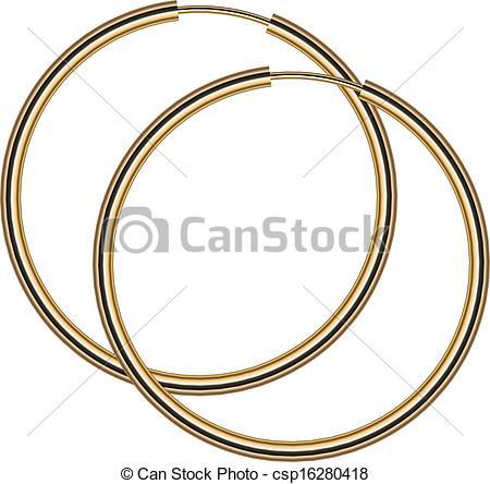 Earrings clipart vector Earrings of of Vector Vector