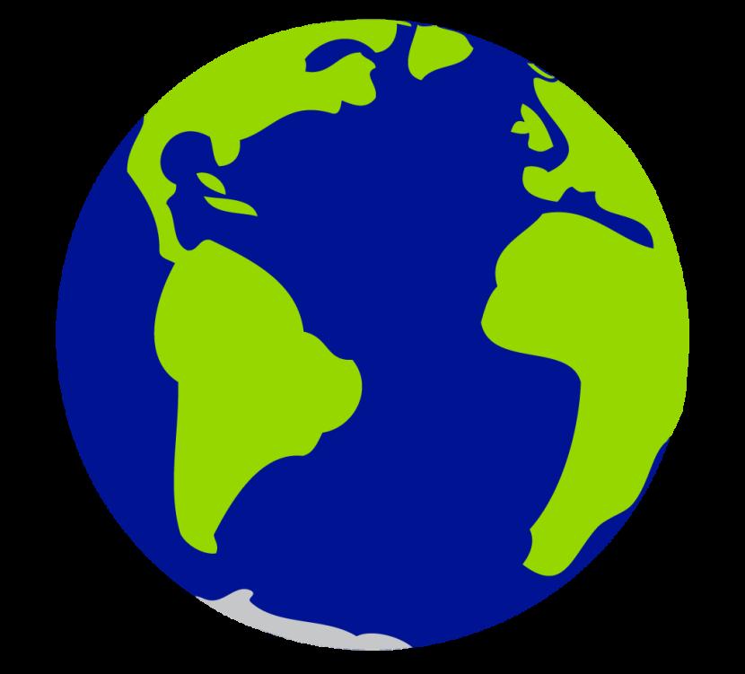 Globe clipart #1