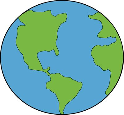 Earth clipart Painting  Globe earth ideas