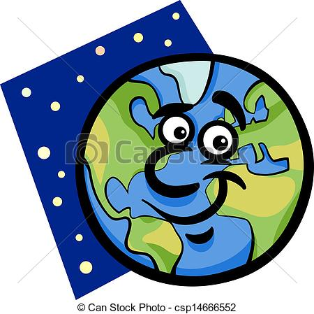 Planet clipart funny Of funny planet  earth