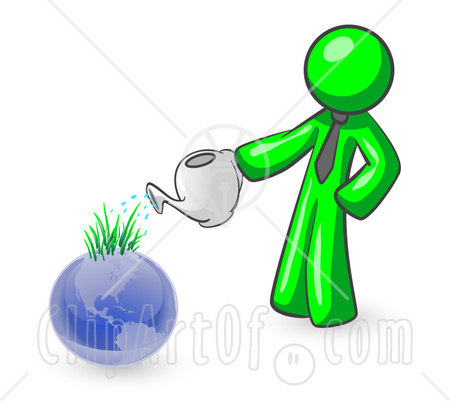 Plant clipart human environment interaction Environment: for Caring 2010 earth