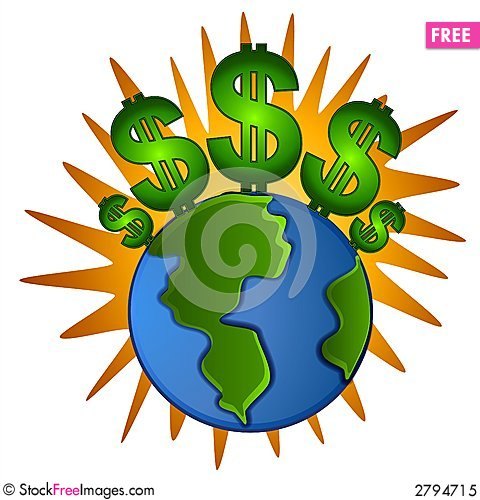 Money clipart earth Cash Signs Photos Money Free