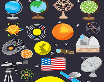 Galaxy clipart elementary science #8