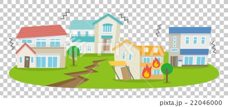 Earthquake clipart disaster [22046000] vector Illustration disaster disaster