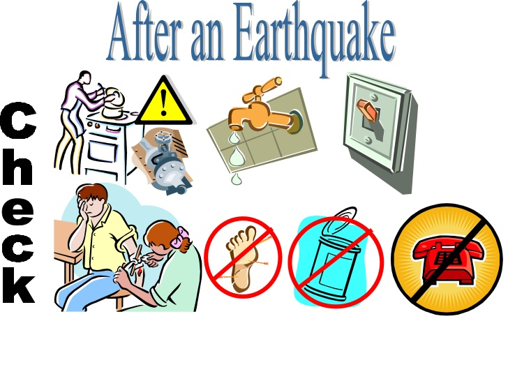 Earthquake clipart disaster An Disasters Check Natural After