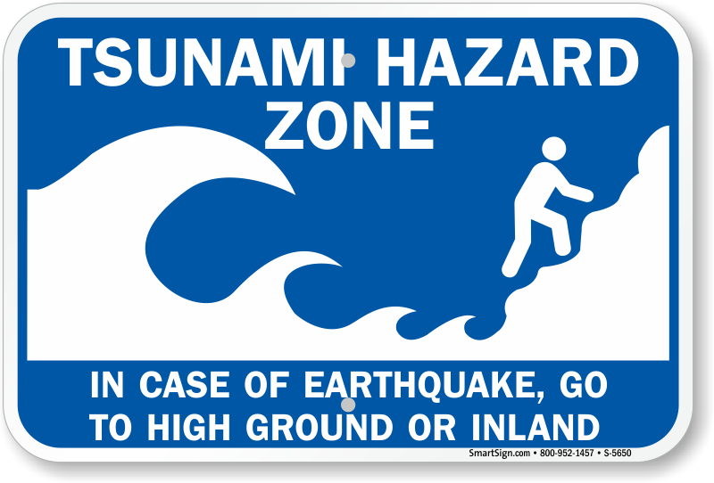 Earthquake clipart zone Shelter Buy Earthquake Signs Zoom