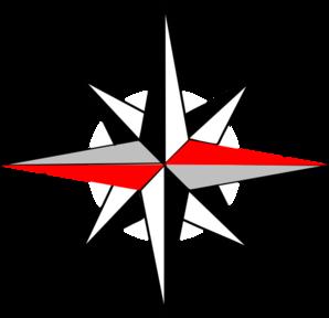 East clipart Compass com Compass Art 12