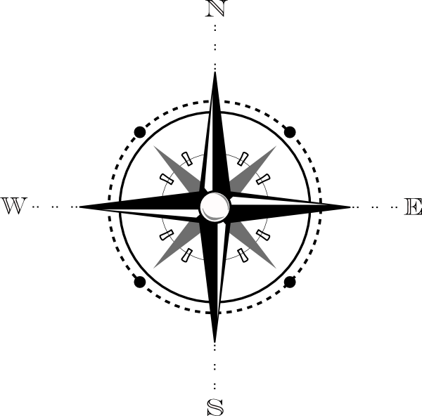 East clipart compass map Art vector Map image clip