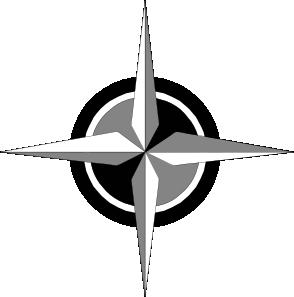 Compass clipart symbol At Clip Rose Art Compass