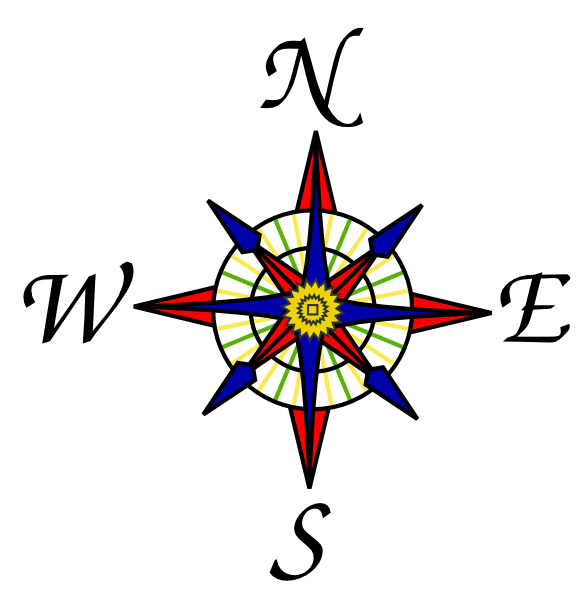 Compass clipart symbol At Clip Rose as: Compass