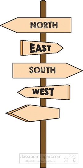 East clipart north south east west : north south 2A with