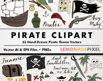 East clipart pirate Clipart Pirate Pirate art theme