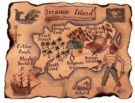 East clipart treasure map New misterel uk with teaching