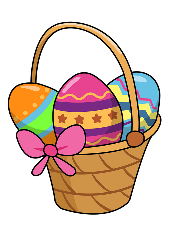 Carrot clipart basket Eggs danaamfa easter 2 of