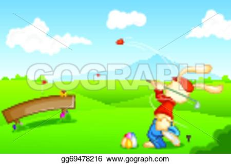 Easter clipart golf #6