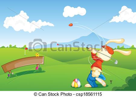 Easter clipart golf #9