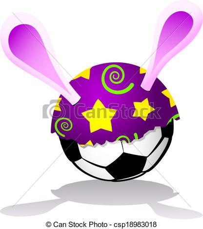 Easter clipart soccer #8
